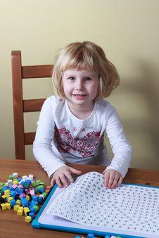 Free Young Girl At Play. Royalty Free Stock Photo - 18553805