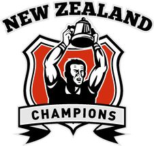 Free Rugby New Zealand Champion Stock Photography - 18554102