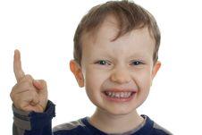 Free Threatening Child Stock Image - 18554231