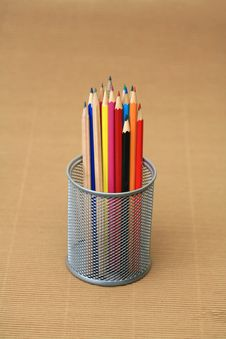 Free Pencil Background Stock Photos - 18555973