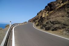 Free Road In Mountains Royalty Free Stock Images - 18556339