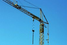 Free Crane At Work Royalty Free Stock Image - 18556816