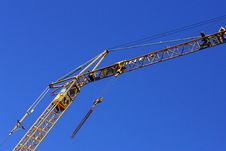 Free Crane At Work Stock Photos - 18556883