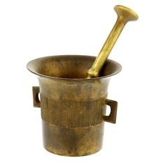 Old Mortar And Pestle Royalty Free Stock Photo