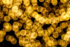 Free Gold Spots Bokeh Background Royalty Free Stock Photos - 18557778