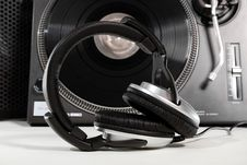 Free Equipment For A DJ Royalty Free Stock Image - 18557986