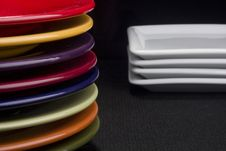Free Ceramic Plates Royalty Free Stock Images - 18558019