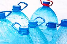 Free Water Bottles Royalty Free Stock Images - 18558319