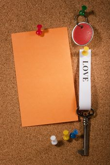 Free Key To Love Stock Photo - 18558320