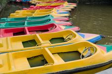 Free Colorful Boats Royalty Free Stock Photo - 18559205