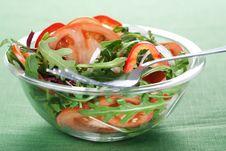 Free Healthy Green Salad Stock Image - 18559261