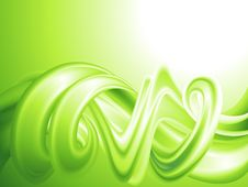 Free Abstract Green Background Stock Photo - 18559380