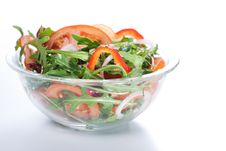 Free Healthy Green Salad Stock Photo - 18559410