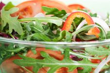 Free Healthy Green Salad Stock Image - 18559461