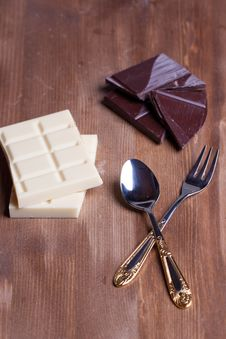 Free Chopped Chocolate Stock Images - 18559474