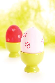 Free Easter Eggs Royalty Free Stock Photo - 18559475