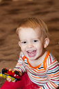 Free Boy With Toy Royalty Free Stock Photos - 18564088