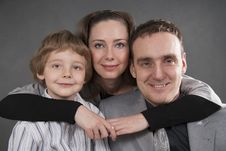 Free Family Lifestyle Portrait Stock Image - 18560041