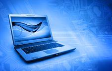 Free Black Laptop Stock Photography - 18560152