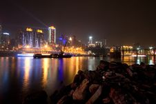 Free City Night Scenery Stock Photography - 18561682
