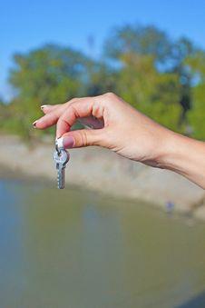 Free Keys From The Lock Stock Photos - 18561733