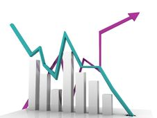 Free Business Graph Royalty Free Stock Image - 18561986