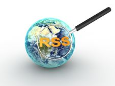 RSS Concept Stock Photo