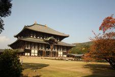 Free Tōdai-ji Temple Nara Royalty Free Stock Photo - 18563075