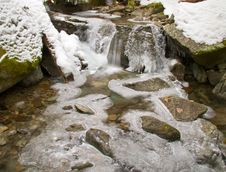 Free Winter Stream Stock Photo - 18563150