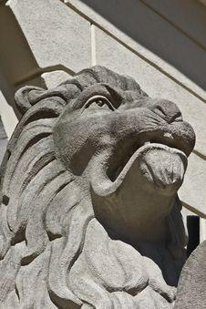 Lion Sculpture Stock Images