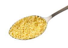 Free Millet In A Spoon Stock Photos - 18563333