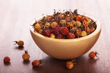 Free Dried Rosehips Stock Image - 18564291