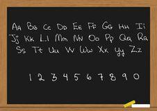 Free Letter In Chalkboard Stock Image - 18564731