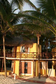 Free Mahekal Resort In Playa Del Carmen - Mexico Royalty Free Stock Photo - 18565015