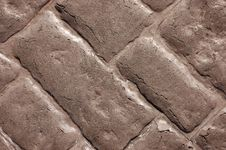 Free Concrete Brick Effect Wall Texture Royalty Free Stock Photography - 18565117