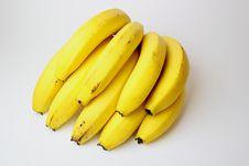 Free Bunch Bananas Royalty Free Stock Image - 18565386