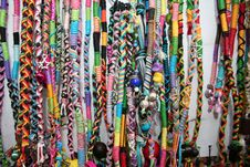Free Vibrant Ethnic Necklaces Stock Images - 18565634
