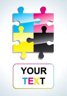 Free Color Puzzle Stock Image - 18566361