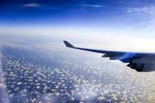 Free Plane Wing Stock Photography - 18566842