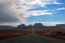 Free Monument Valley Stock Photography - 18567012