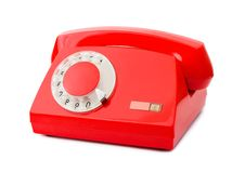 Free Red Phone Royalty Free Stock Image - 18567466