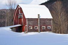 Free Faded Barn Stock Photo - 18567950