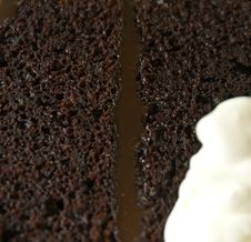 Free Moist Chocolate Cake Royalty Free Stock Image - 18568356