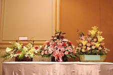 Free Three Flower Baskets Stock Photography - 18568572