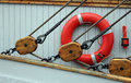 Free Yacht Pulleys Stock Images - 18570794