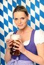 Free Bavarian Woman Royalty Free Stock Photo - 18576655