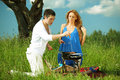 Free Lovers On Picnic Stock Photo - 18577710
