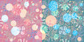 Free Big Seamless Floral  Colorful Pattern Royalty Free Stock Photo - 18578025
