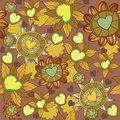 Free Seamless Floral Pattern Stock Image - 18578051