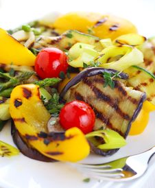 Free Grilled Vegetables Royalty Free Stock Photo - 18570655